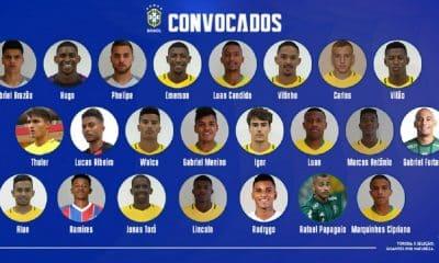 Sub-20 se apresenta nesta segunda-feira para Sul-Americano
