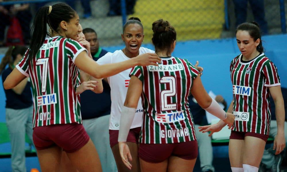 Fluminense vence Balneário no tie break pela Superliga feminina 6b809e810973e