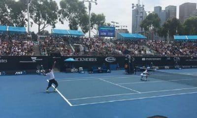 Marcelo Melo e Lukasz Kubot no Australian Open de tênis em 2018