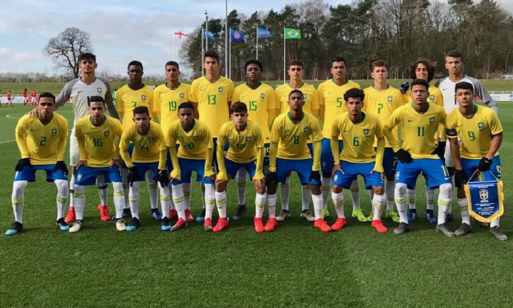 Brasil no grupo de Argentina e Uruguai no Sul-Americano Sub-17 661b5acc2c7a2