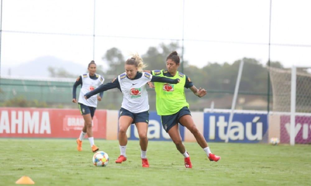 Seleção inicia última semana de treinos na Granja Comary 4f3b45c8e0584