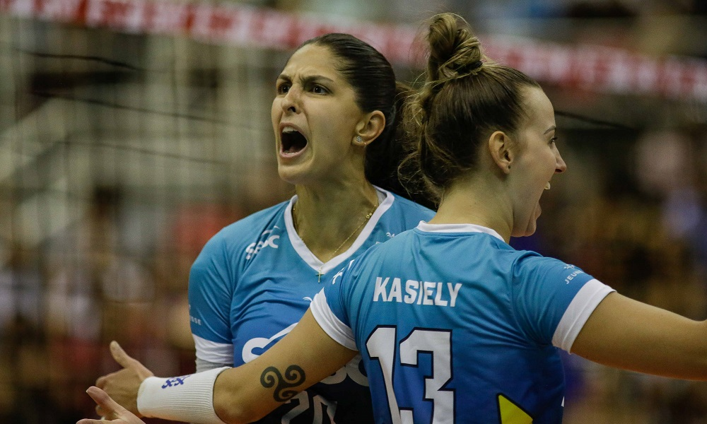 Ao vivo  Sesc x Barueri - Superliga feminina de vôlei b4739c4dcf669