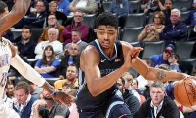 Bruno Caboclo, do Memphis Grizzlies, na NBA