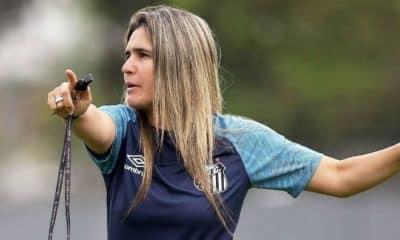Emily Lima, treinadora de futebol feminino