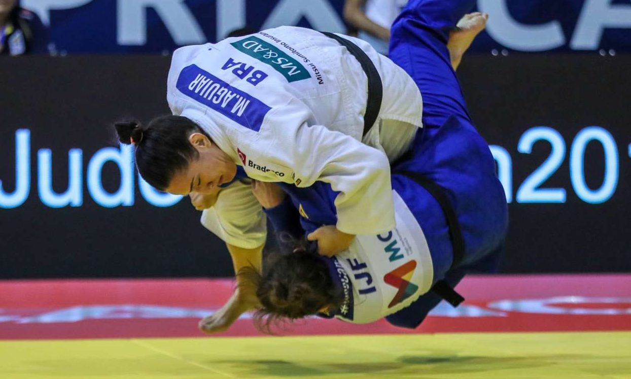 Mayra Aguiar estreia na seleção brasileira de judô em Bratislava em 2020
