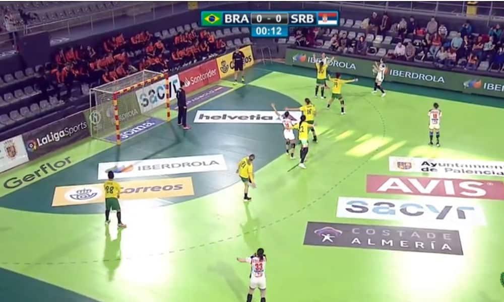 46d3afeeb6c27 Ao vivo  Brasil x Sérvia - Torneio Internacional da Espanha de handebol