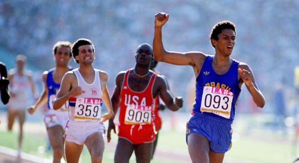 Joaquim Cruz vence os 800 m da Olimpíada de Los Angeles-1984