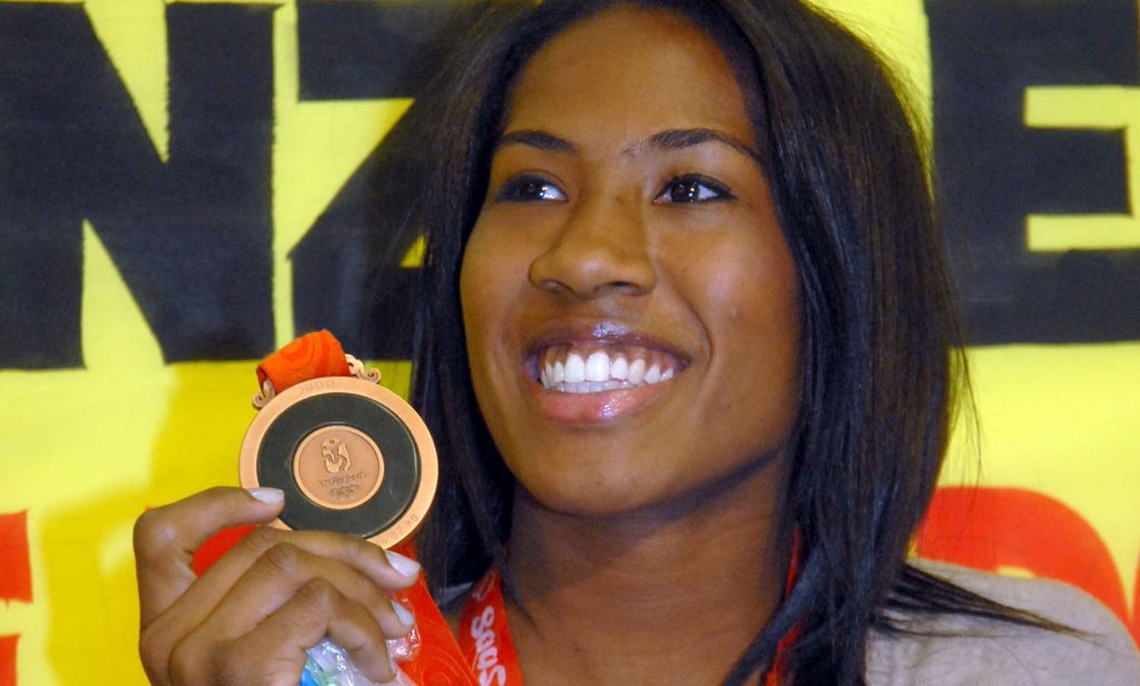 Ketleyn Quadros - Pequim 2008 - Medalha - Judô feminino - Primeira brasileira medalhista individual -Ketleyn Quadros - judô - meio médio - -63kg - Olimpíada de Tóquio 2020