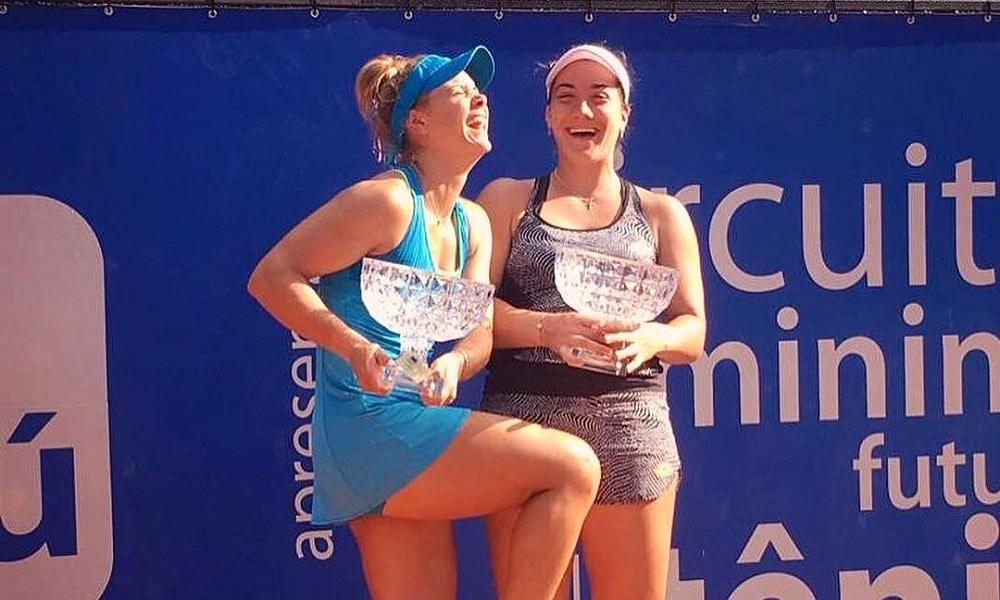Laura Pigossi - tênis feminino - duplas - Jogos Olímpicos de Tóquio 2020