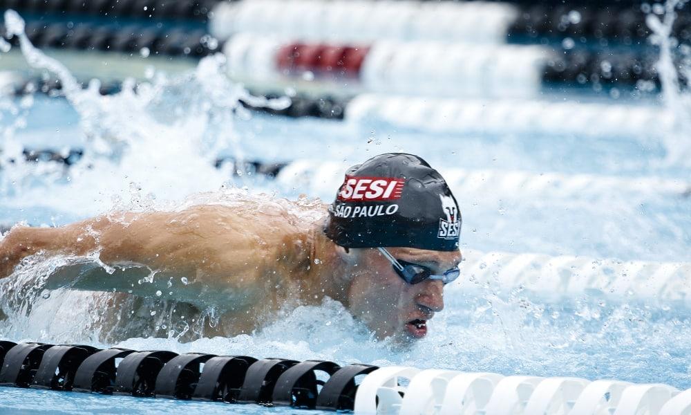 Matheus GOnche - revezamento 4x100m medley masculino - 200m masculino - Jogos Olímpicos de Tóquio 2020 - natação