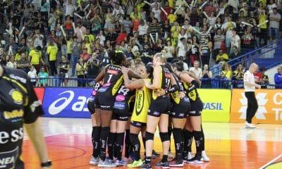 Dentil/Praia vai disputar o Mundial de Clubes de vôlei feminino