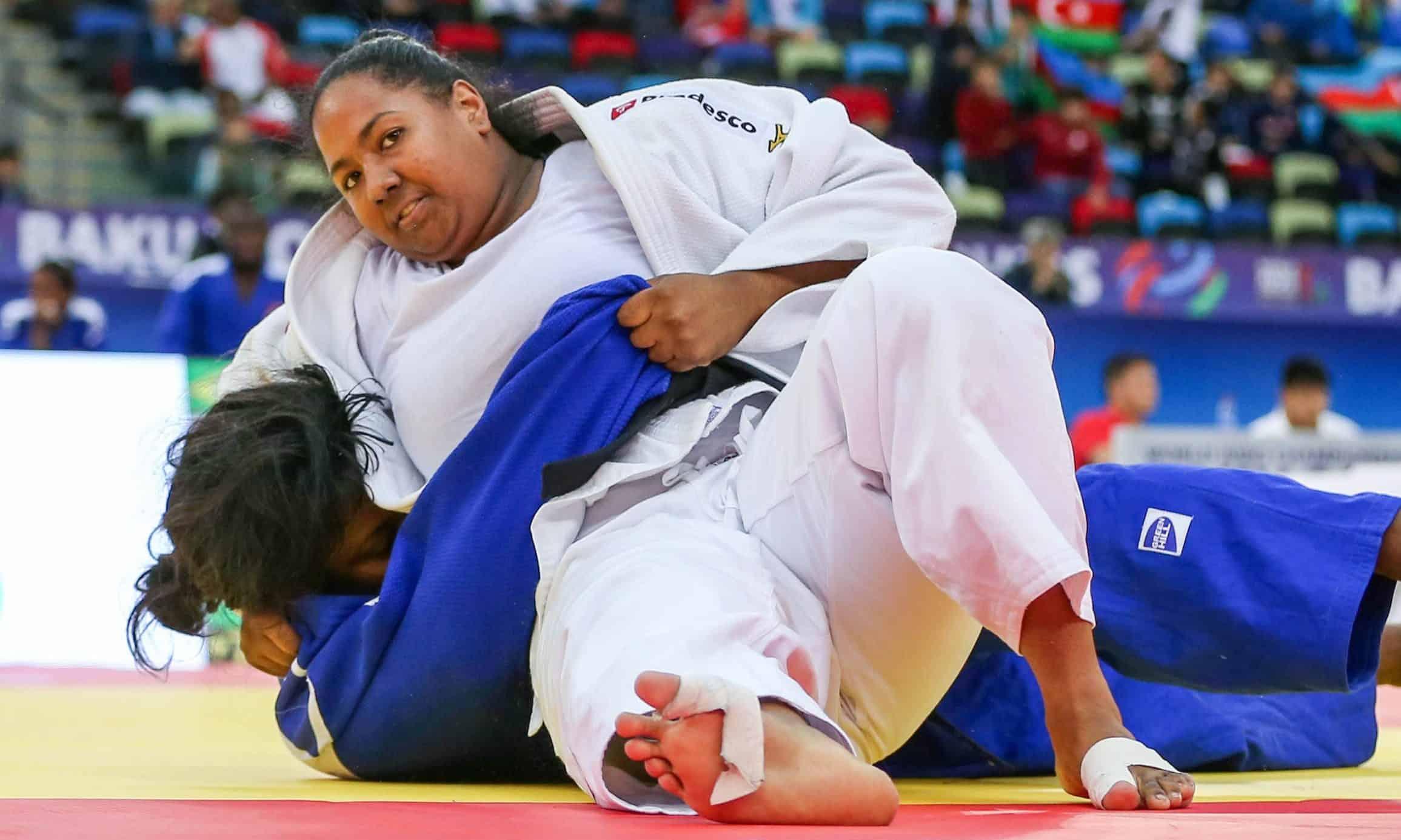 Beatriz Souza da seleção brasileira de judô