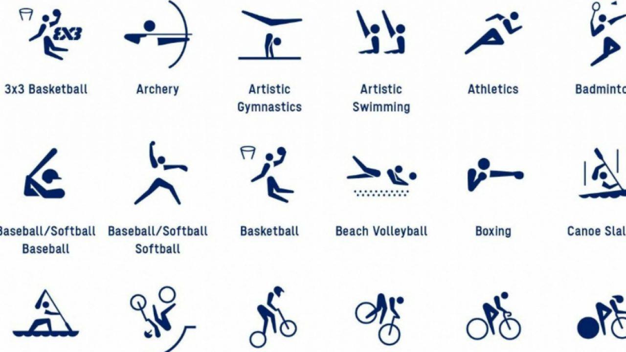 Pictogramas Dos Jogos Olimpicos De Toquio 2020 Sao Revelados