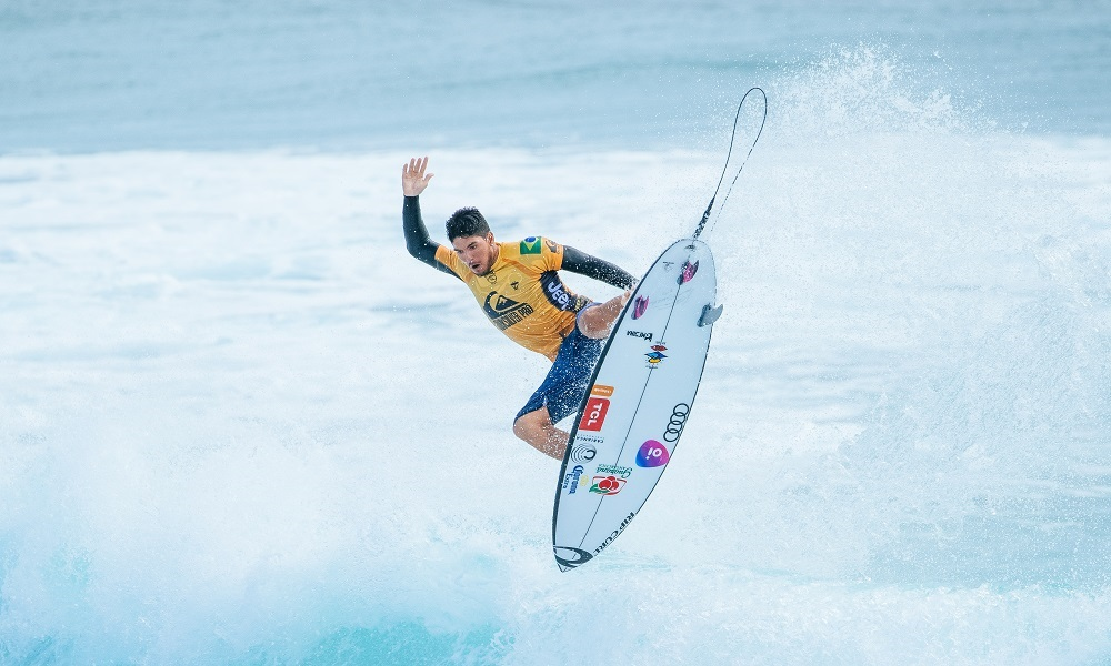 Gabriel Medina, do surfe, em Queensland, Australia