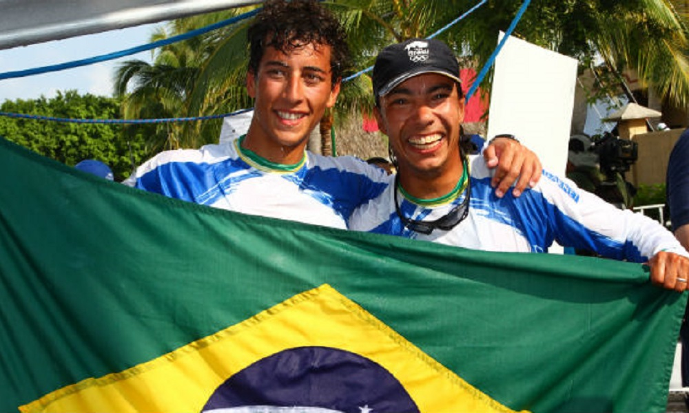Marco Grael 49er Gabriel Borges Jogos Olímpcios de Tóquio Olimpíada 2020