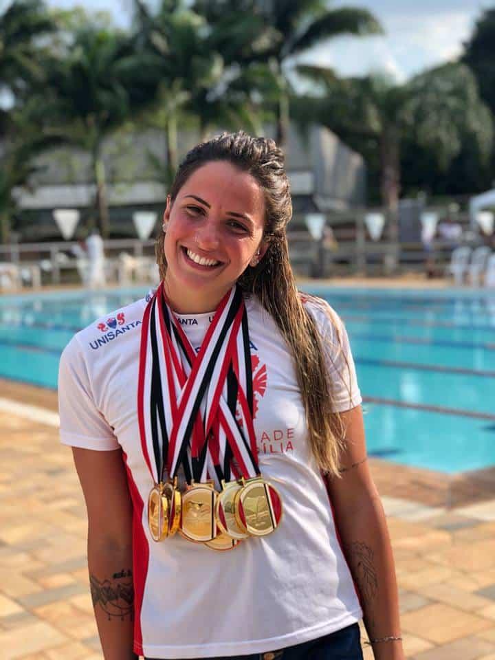 Gabi Roncatto - natação - 4x200m feminino - Olimpíada de Tóquio 2020