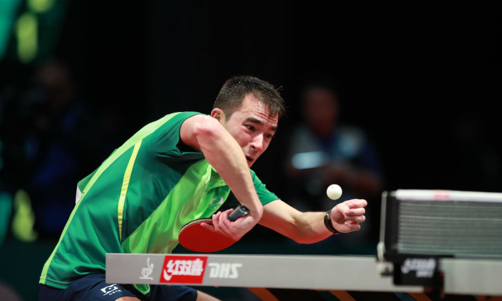 Hugo Calderano enfrenta o chinês Ma Long pelo Mundial Individual de tênis de mesade 2019