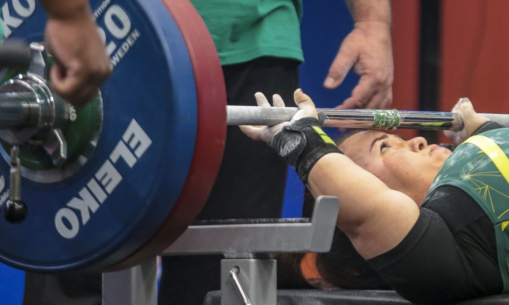 Mariana D'Andrea halterofilismo Jogos Paralímpicos Tóquio