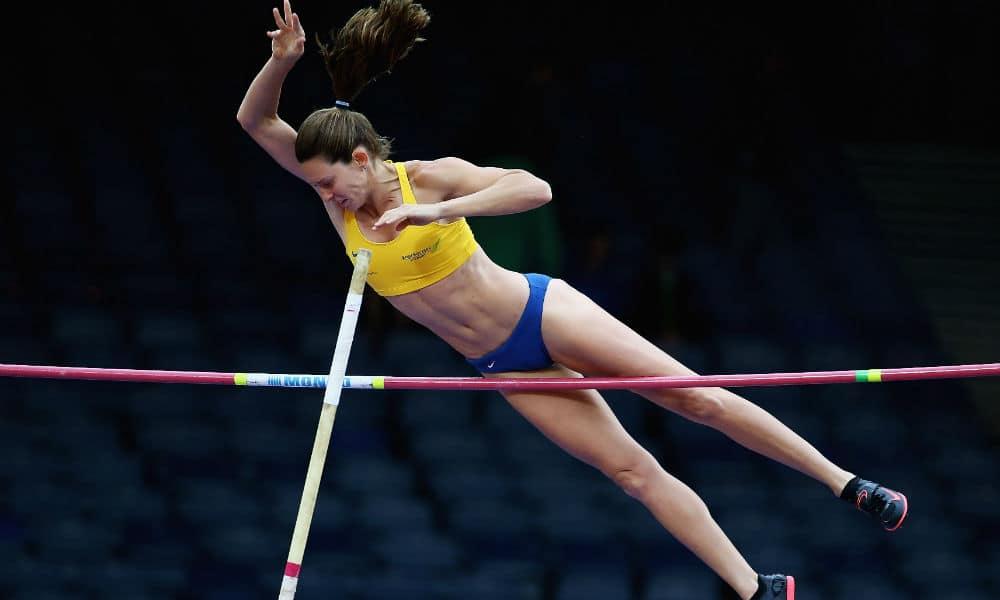 salto com vara feminino
