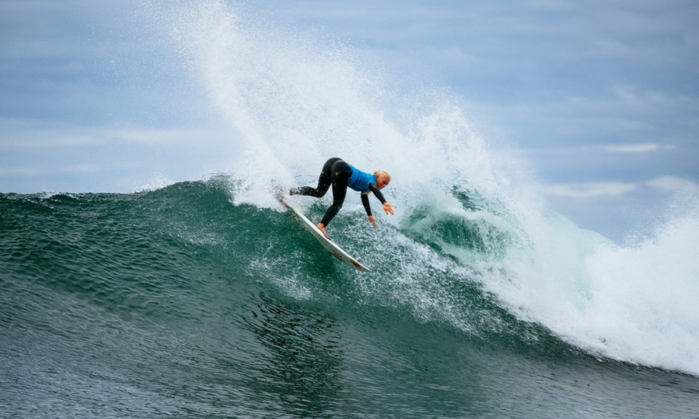 Tati Weston-Webb em Bells Beach