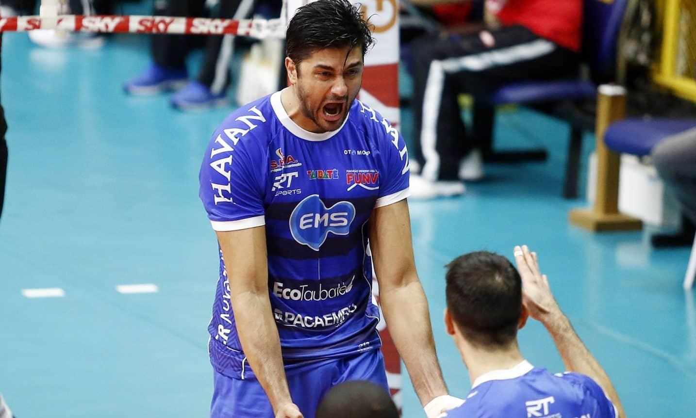 Leandro Vissoto se despede do Taubaté vôlei após duas temporadas