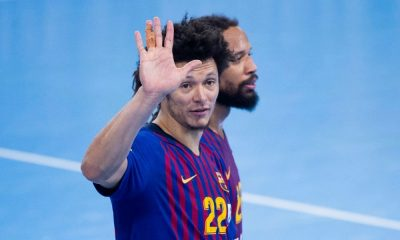 Thiagus Petrus, do Barcelona, está no Final Four da Champions League de handebol