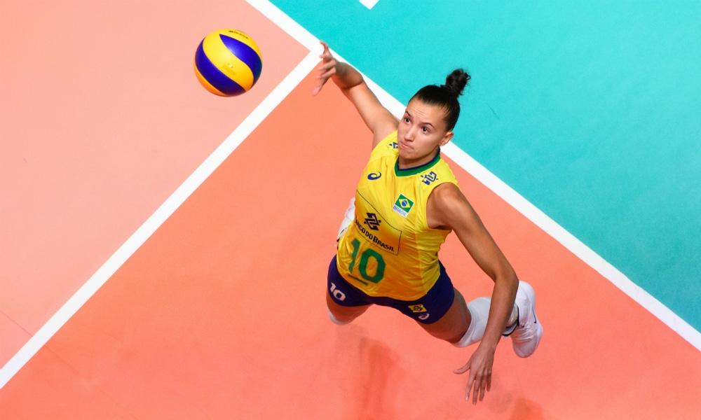 Gabi Gabriela Guimarães seleção brasileira de vôlei feminino - Jogos Olímpicos de Tóquio 2020