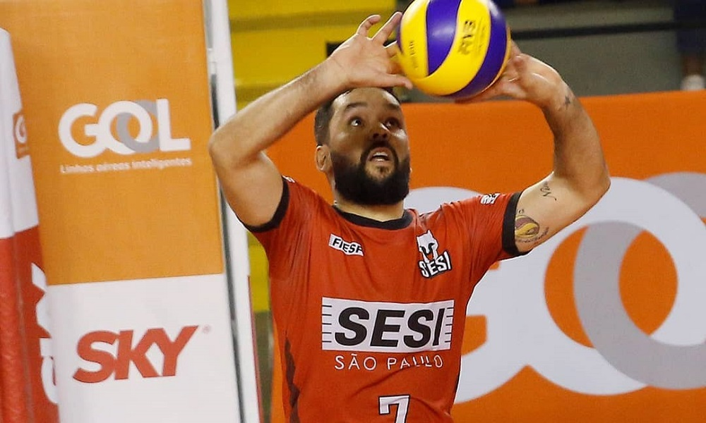 william, ex-sesi, interessa o minas no mercado do vôlei masculino