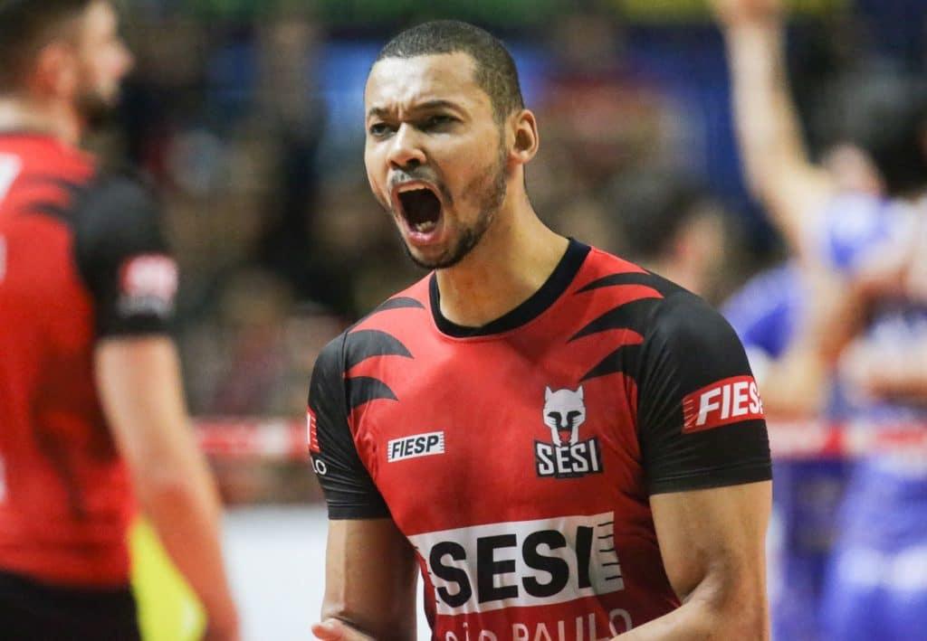 alan deixa o Sesi para voltar para o Sada Cruzeiro no mercado do vôlei masculino