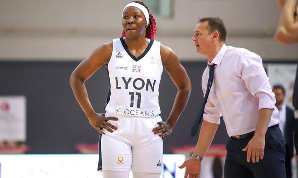 Clarissa dos Santos lyon basquete feminino frança