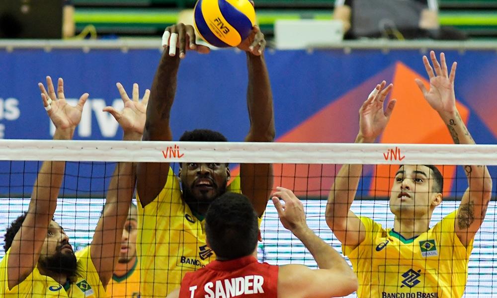 Isac Santos - seleção brasileira de vôlei - Jogos Olímpicos de Tóquio 2020