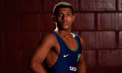 Joílson Júnior mundial de wrestling luta greco-romana