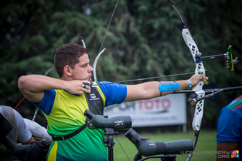 Marcus D'Almeida, tiro com arco