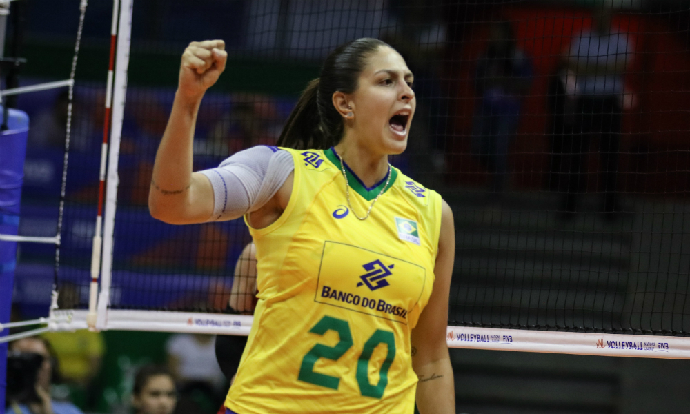 Bia central - seleção brasileira de vôlei feminino - Jogos Olímpicos de Tóquio 2020