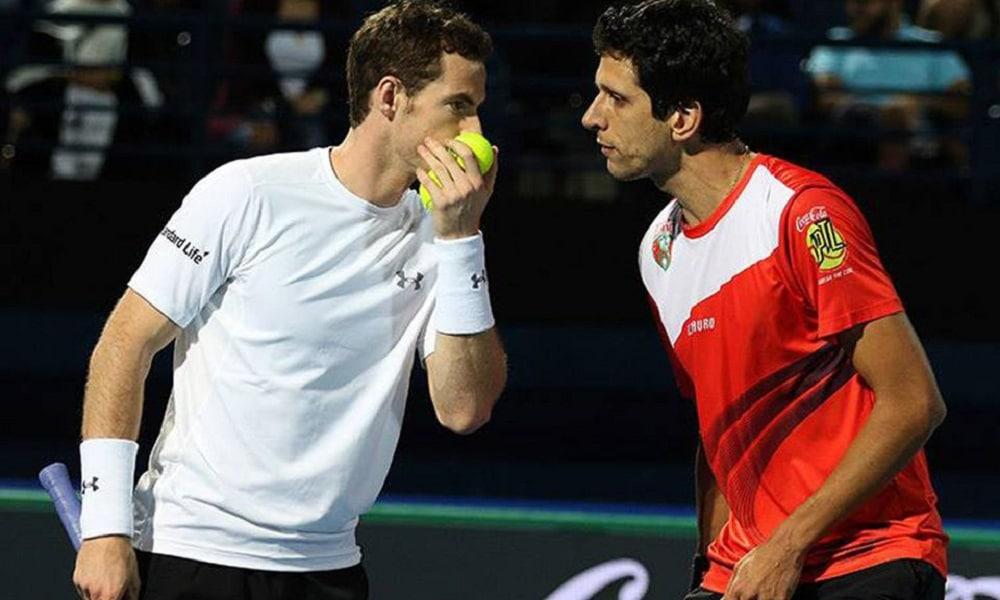 Andy Murray e Marcelo Melo