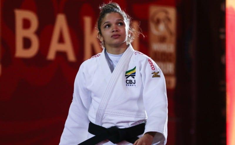 Larissa Pimenta seleção brasileira de judô missão europa Portugal