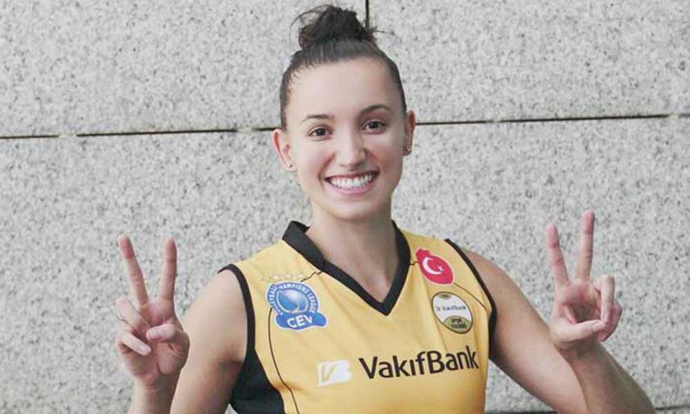 Gabi Guimarães, jogadora do Vakifbank, da Turquia
