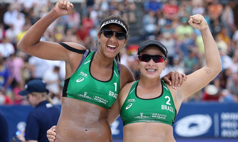Ana Patrícia e Rebecca, do vôlei de praia