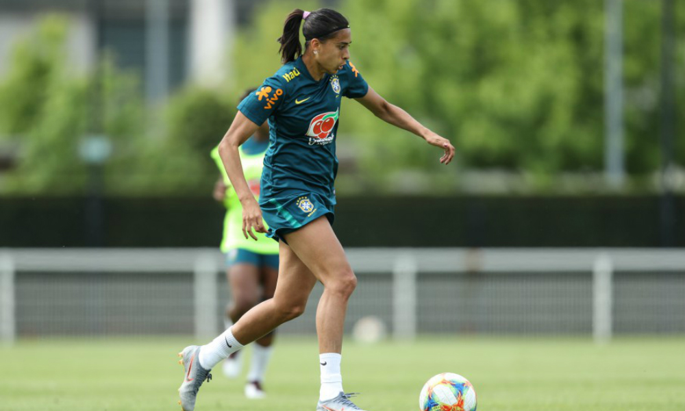Andressa Alves, da Roma e da seleção brasileira de futebol feminino