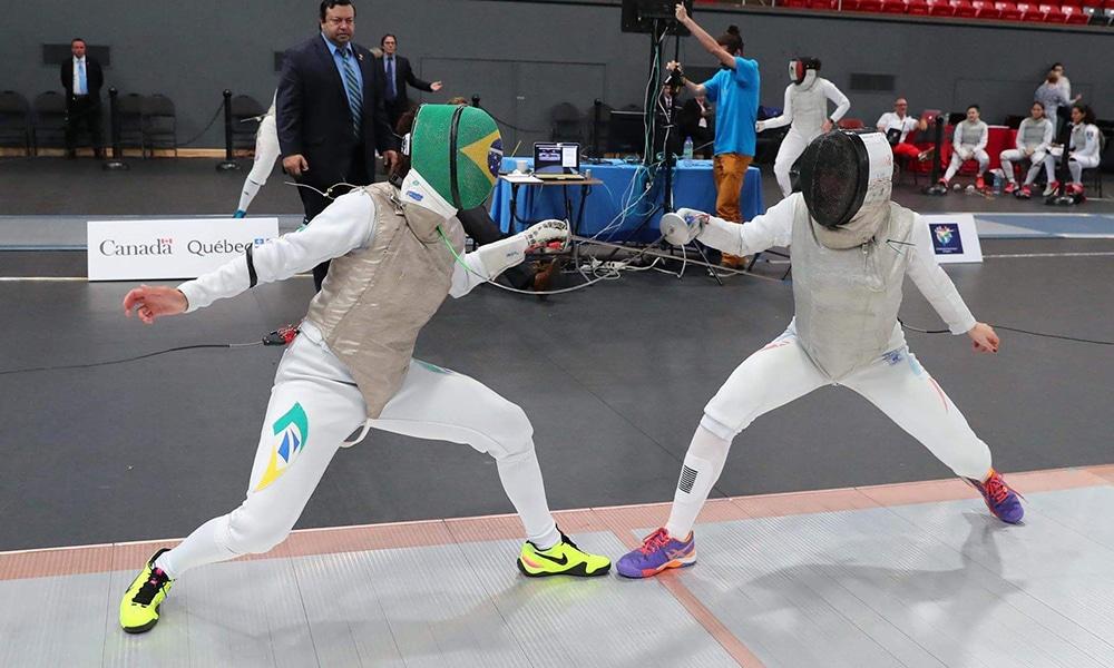 Bia Bulcão vai ao mundial de esgrima e aos Jogos Pan-Americanos