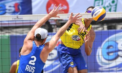 Rafael/Renato vencem no Mundial sub-21 de vôlei de praia