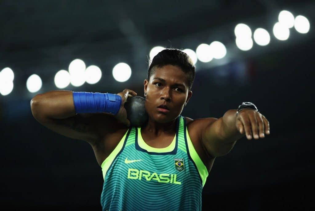 Geisa Arcanjo- arremesso de peso - Jogos Olímpicos de Tóquio 2020