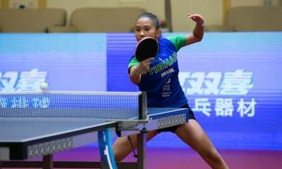 Giulia Takahashi em disputa que vale vaga no mundial juvenil de tênis de mesa
