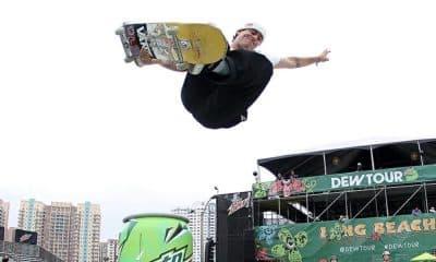 Pedro Barros, do skate park