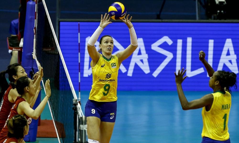 Roberta Ratzke - seleção brasileira de vôlei feminino - Jogos Olímpicos de Tóquio 2020 - levantadora