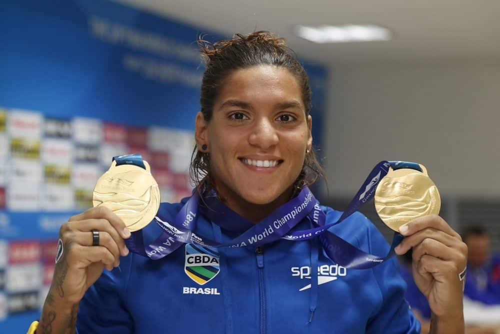 Ana Marcela Cunha Mundial de Desportos Aquáticos ao vivo mundial de esportes aquáticos