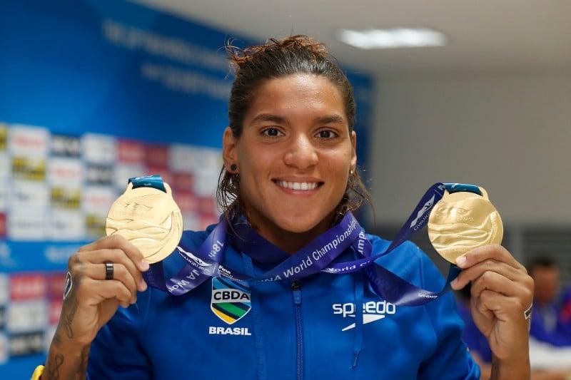 Conheça mais sobre Ana Marcela Cunha, atleta da maratona aquática que defenderá o Brasil nos Jogos Olímpicos de Tóquio 2020 na prova dos 10km feminino