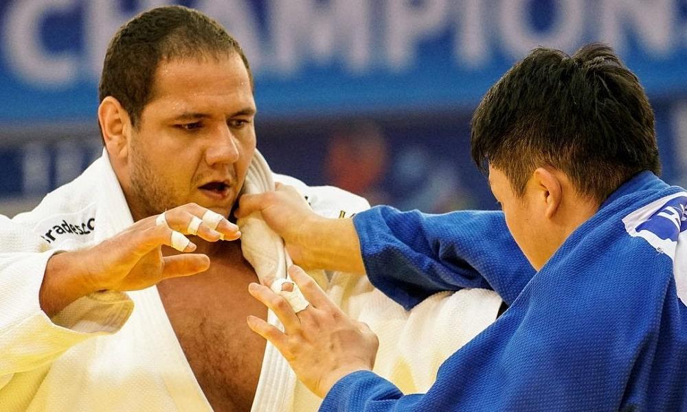 judoca Rafael Silva, o Baby, do judô fala sobre rotina adaptada de treinos e adiamento dos Jogos de Tóquio