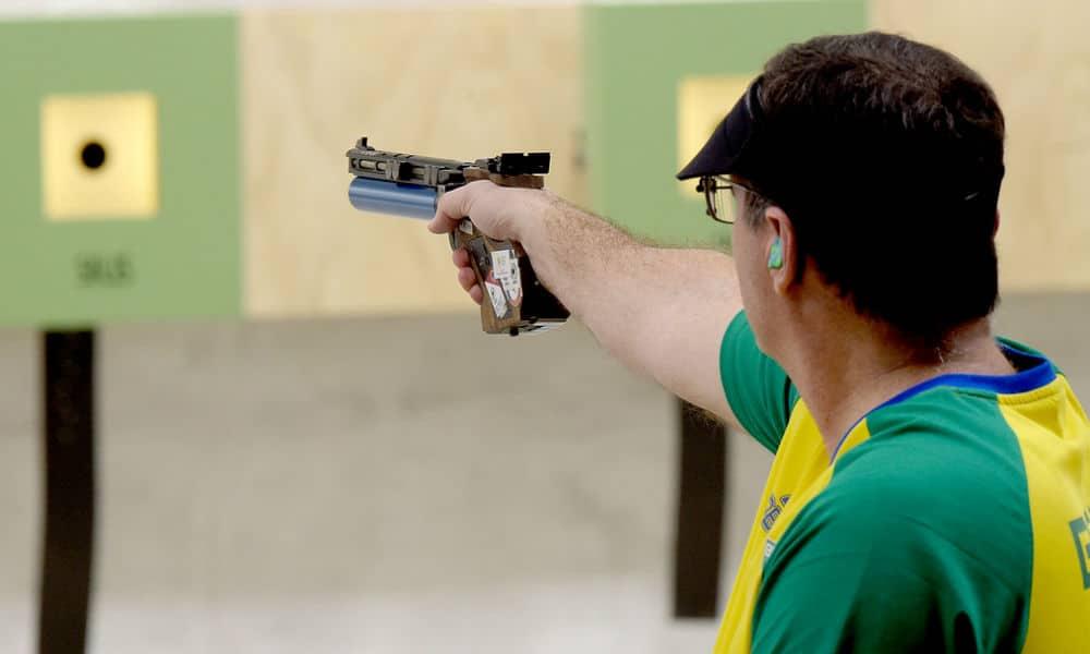 Nesta sexta-feira, na H&N Cup, o brasileiro Júlio Almeida fez uma boa fase de classificação e avançou a final em 2º na pistola de ar. Na final, foi 8º.