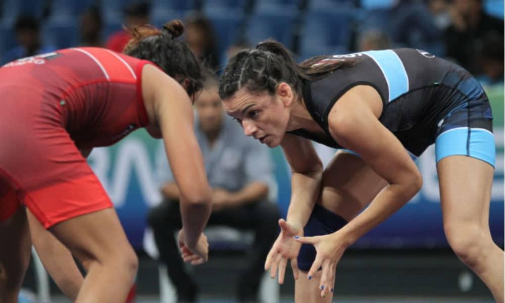Kamila Barbosa Sul-Americano de Wrestling
